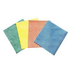 5 Star Facilities All Purpose Cloths on a Roll W230xL500mm Green [Roll 100]