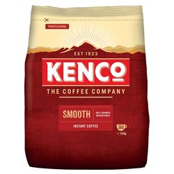 Kenco Smooth Instant Coffee Refill Bag 650g Ref 924778