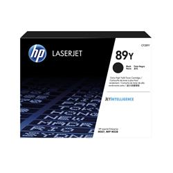 HP 89Y Black LaserJet Toner Cartridge CF289Y