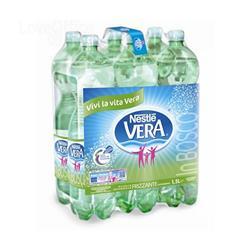 Acqua Vera frizzante - 1,5 l - conf. 6