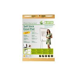 Bi-Office Earth Flipchart Easel Pad, Self Stick, 30 Sheets - 80 gr/m² paper,  63,5 x 76,2 cm [Pack 2]