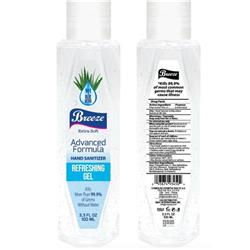 Breeze Hand Sanitiser with Vitamin E and Aloe Vera 100 ml