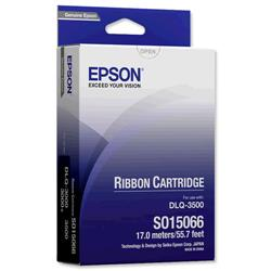 Epson Black Printer Ribbon for DLQ-3000+/DLQ-3500 Ref C13S015066