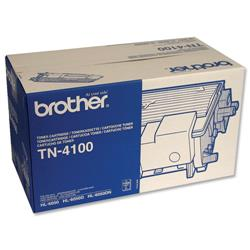 Brother TN4100 Black Laser Toner Cartridge for HL6050 Ref TN-4100