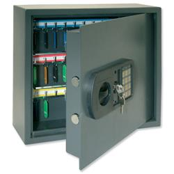 High Security Key Safe with Electronic Key Pad and 30mm Double Bolt Locking 100 Keys