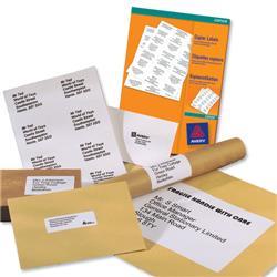 Avery Multipurpose Label Laser Copier Inkjet 4 per Sheet 105x148mm White Ref 3483 [400 Labels]
