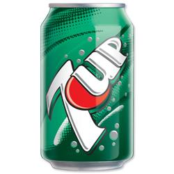 7Up Original Soft Drink Can 330ml Ref 203388 Pack 24