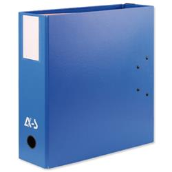 Arianex Double Capacity Lever Arch Files File 2x50mm Spines A4 Blue Ref DA4-BE