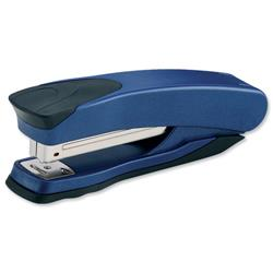 Rexel Taurus Stapler Full strip Throat 90mm Metallic Blue Ref 2100005