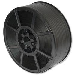 Polypropylene Strapping Medium Duty Capacity 135kg 12mmx2000m Black