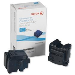 Xerox Ink Sticks Solid Page Life 4400pp Cyan Ref 108R00931 - Pack 2