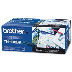 Brother TN130BK Black Laser Toner Cartridge Ref TN-130BK