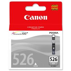 Canon CLI-526GY Grey Inkjet Cartridge for PIXMA MG8150/MG6150 Ref 4544B001