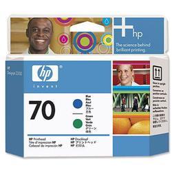 Hewlett Packard HP No. 70 Printhead Blue Green Ref C9408A