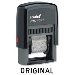 Trodat Printy Band Stamp 12 words 4mm print Ref 74046
