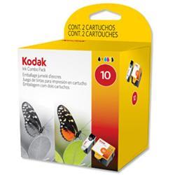 Kodak 10B & 10C Ink Combo Pack for ESP 3/5/7/9/3250/5250 Ref 3949948