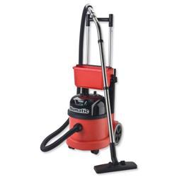 Numatic Pro Vacuum Cleaner Twinflo Hepaflo-filtration Retractable Handle Ref PPT390B2