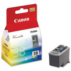 Canon CL-38 Colour Inkjet Cartridge for Pixma iP1800/iP 2500 Ref 2146B001