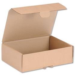 Mailing Carton Easy Assemble S 250x175x80mm Brown Ref 43383250 [Pack 20]