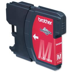 Brother LC1100HYM High Yield Magenta Inkjet Cartridge Ref LC1100HYM