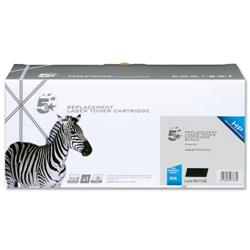 5 Star Office Remanufactured Laser Toner Cartridge 2300pp Black [HP No. 05A CE505A Alternative]