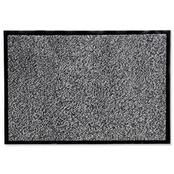 Floortex Door Mat Dust and Moisture Control Polypropylene 600mmx900mm Black and White