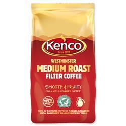 Kenco Westminster Ground Coffee for Filter Medium Roast 1Kg Ref 4032279