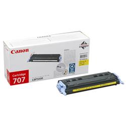 Canon 707Y Yellow Toner Cartridge 9421A004