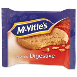 McVities Digestive Biscuits Wheatmeal Twinpack Ref A06061 - Pack 48