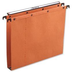 Elba AZV Ultimate A20 Suspension File Manilla 30mm Foolscap Orange Ref 100330314 [Pack 25]
