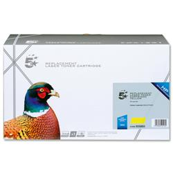 5 Star Office Remanufactured Laser Toner Cartridge 6000pp Yellow [HP No. 503A Q7582A Alternative]