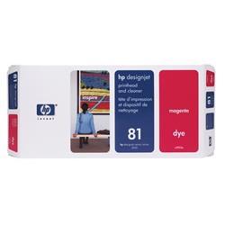Hewlett Packard [HP] No. 81 Magenta Dye Printhead and Printhead Cleaner Ref C4952A