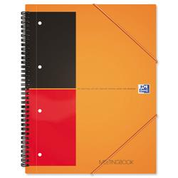 Oxford International Meeting Book 2 Wire 2 Margin Ruled 160pp A4+ Ref 100104296 [Pack 5]