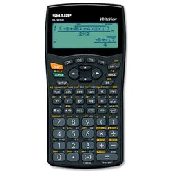 Sharp WriteView ELW531B Scientific Calculator Ref ELW531B