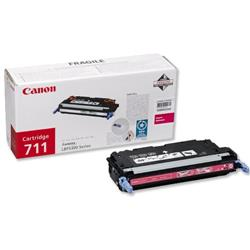 Canon 711 Magenta Laser Toner Cartridge for i-SENSYS LBP5360 Ref 1658B002