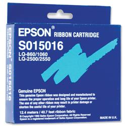 Epson Black Fabric Nylon Ribbon Cassette for LQ2250/2500/860/1060 Ref S015016