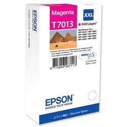 Epson T7013 Magenta Extra High Capacity Ink Cartridge Ref C13T70134010