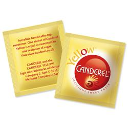 Canderel Yellow Artificial Sweetener Low Calorie Granules Sachets Ref A03665 - Pack 1000