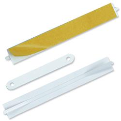Durable Filing Fasteners Self-adhesive for 80mm White Ref 6908/02 - Pack 100