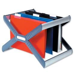 Twinlock Crystalfile Extra Desk Organiser Frame for 30 Suspension Files A4 or Foolscap Ref 3000103