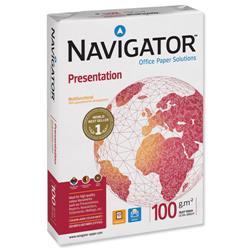 Navigator Presentation Paper A4 100gsm High Quality White 500 Sheets - Ref NPR1000032