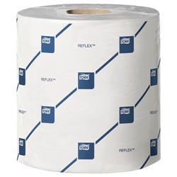 Tork Reflex Wiper Roll 2-Ply 429 Sheets of 194x150mm White Ref E02222 [Pack 6]