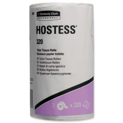Hostess 320 Toilet Tisue Rolls Two-ply Ref 8653 - Pack 36