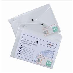 Snopake Polyfile Lite Wallet File Polypropylene Durable A4 Clear Ref 15412 [Pack 5]