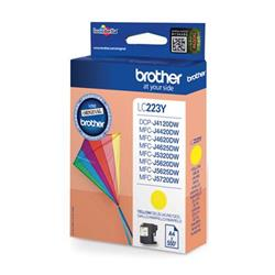 Brother Inkjet Cartridge 5.9ml Page Life 550pp Yellow Ref LC223Y