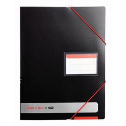 Black n Red by Elba Display Book Polypropylene Opaque Ref 400050725