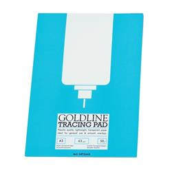Goldline Popular Tracing Pad 63gsm 50 Sheets A3 Ref GPT2A3Z [Pack 5]