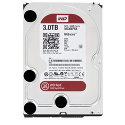 WD Red (3TB) 5400rpm SATA 6Gb/s 64MB 3.5 Inch Desktop Internal Hard Disk Drive For NAS Ref WD30EFRX