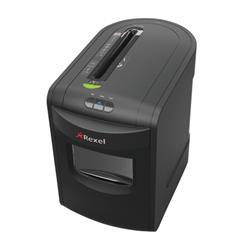 Rexel REX1323 Office Shredder 4.0x40mm Cross Cut 23 Litre Bin 13 Sheet Capacity and P-4 Security Level Ref 2105013