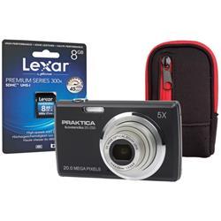 Praktica 20-Z50 Digital Camera Kit Black Ref PRA092
